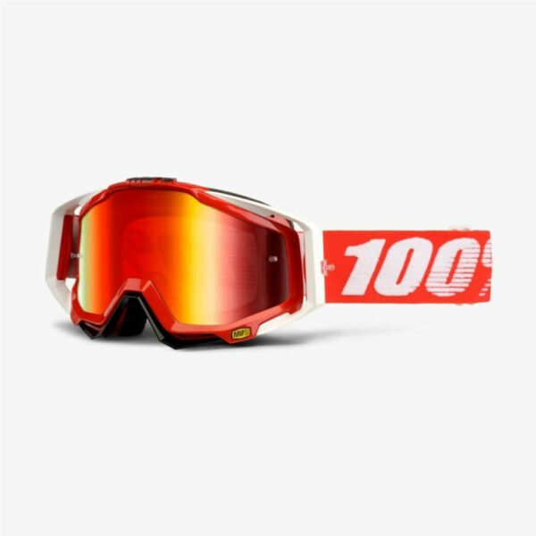 Racecraft Goggles Fire Red