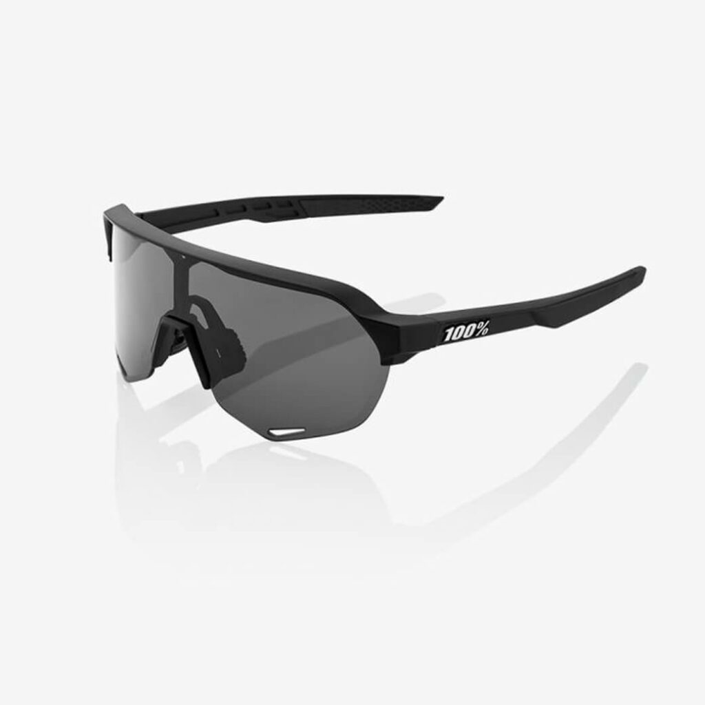 100% S2 Soft Tact Black (Smoke Lens)