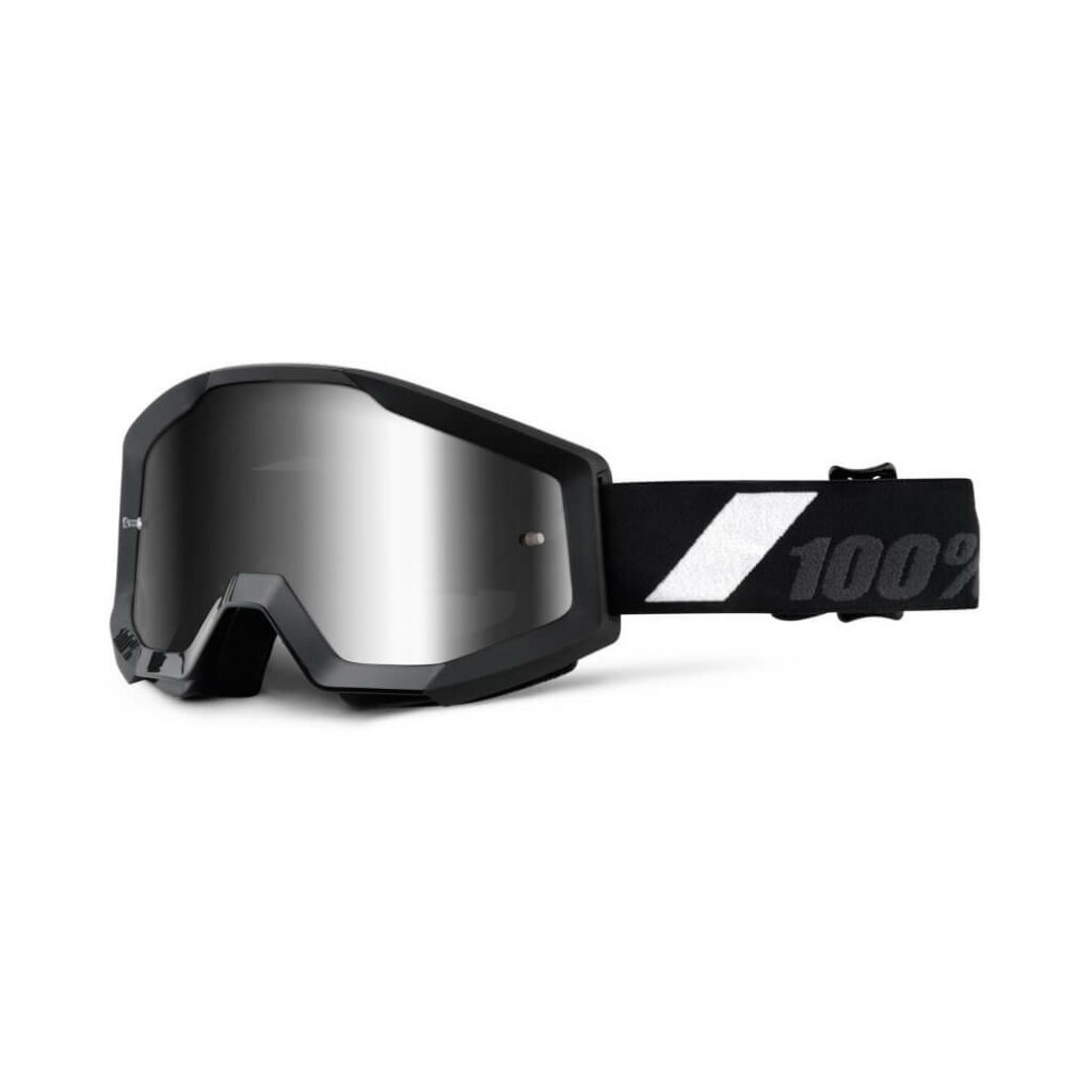 100% Strata Goggles Goliath (Silver lens)