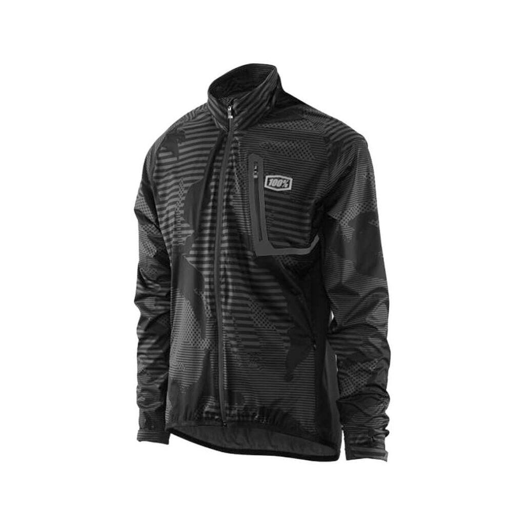 100% Hydromatic Jacket Black Camo