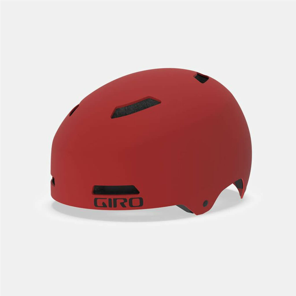 Giro Quarter Helmet Red