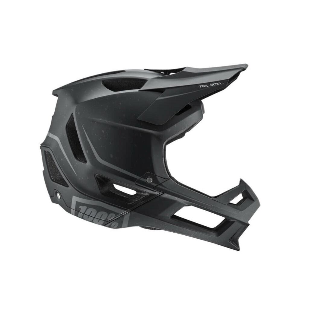 100% Trajecta Helmet Black LARGE