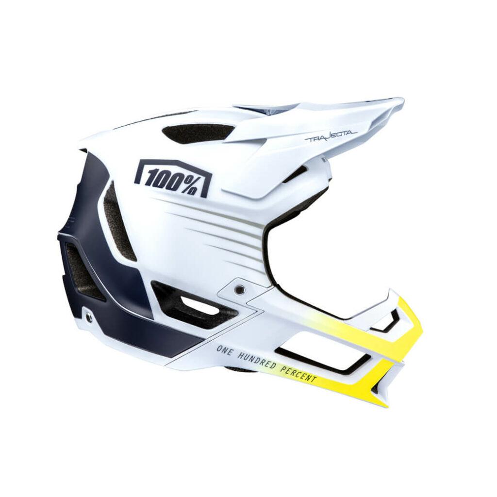 100% Trajecta Helmet White/Navy
