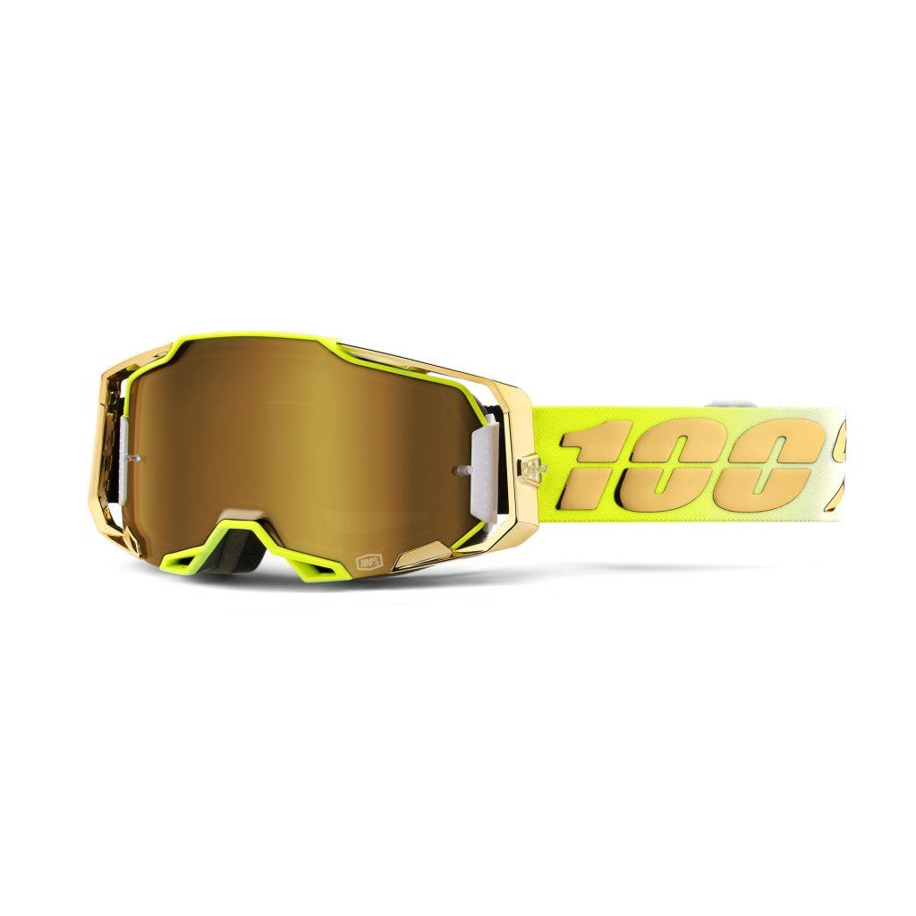 100% ARMEGA Goggle Feelgood - True Gold