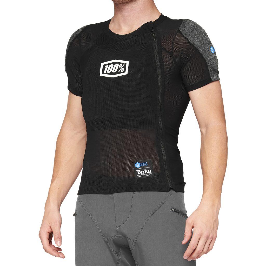 100% TARKA Short Sleeve Black