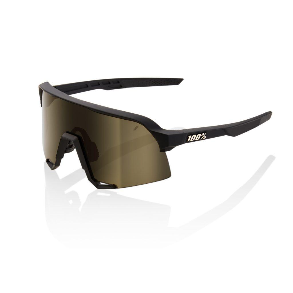 100% S3 - Soft Tact Black - Soft Gold