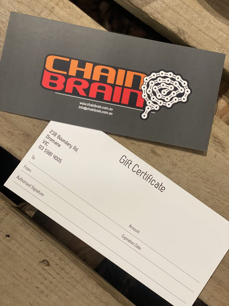 Chainbrain Gift Voucher